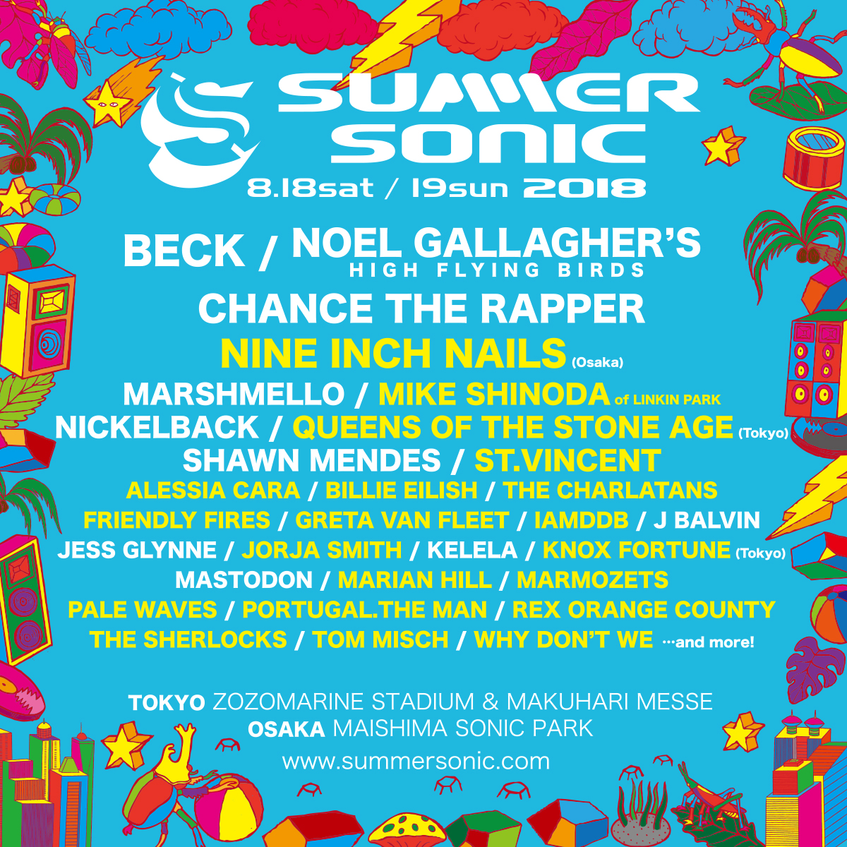 "SUMMER SONIC 2018に、""MIKE SHINODA of LINKIN PARK"" 出演決定!"