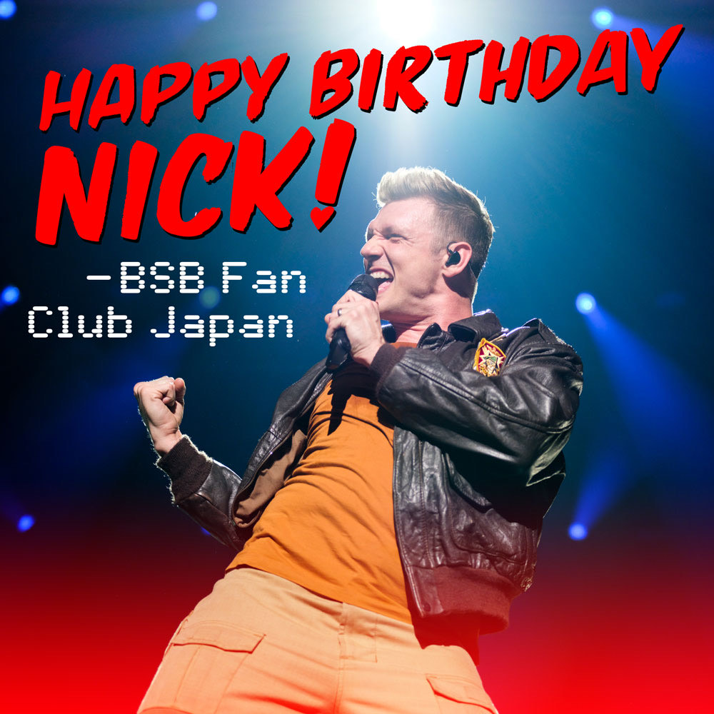 HAPPY BIRTHDAY Nick!!